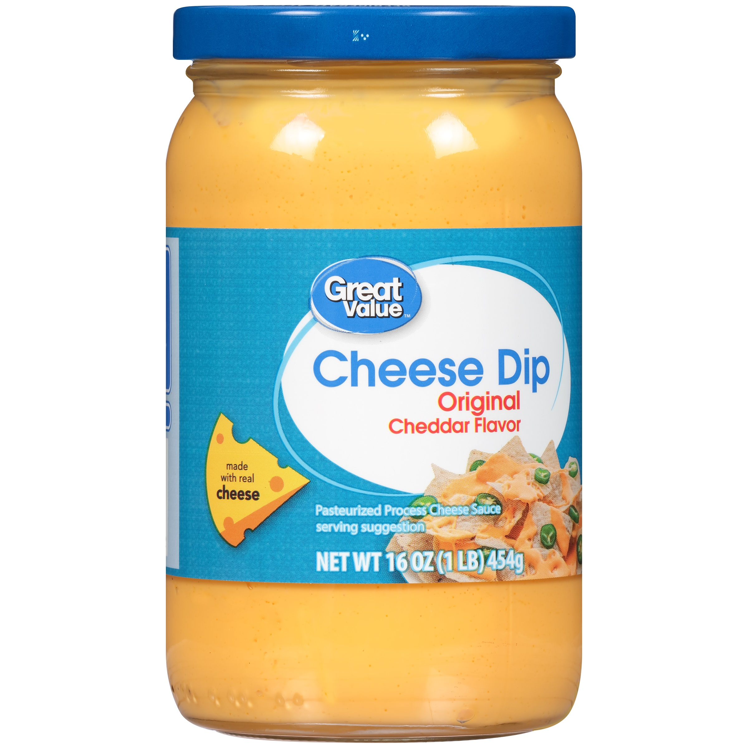 Great Value Cheese Dip, Cheddar Flavor, 16 oz