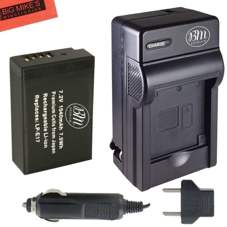 Bm Premium Lp E17 Battery Amp Charger Kit For Canon Rebel