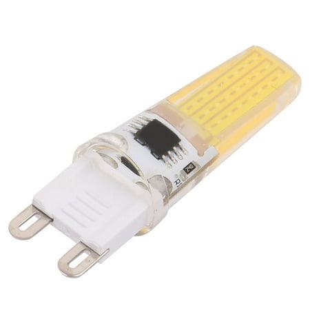 200V-240V LED Light Bulb Lamp Epistar COB-2508 LED 9W G9 White - image 1 de 2