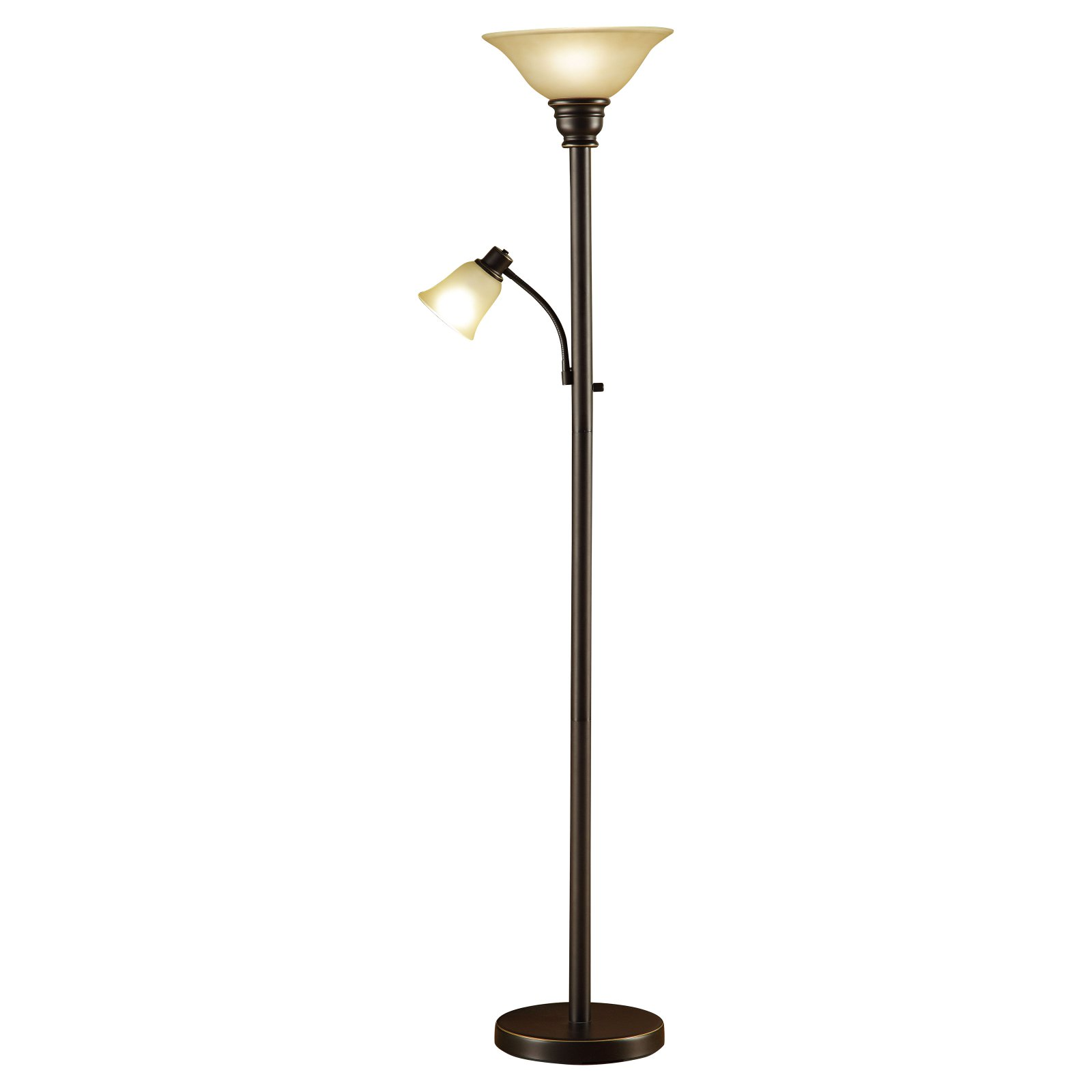 "Evolution Lighting Catalina 71"" Combo Floor Lamp with Rea..."