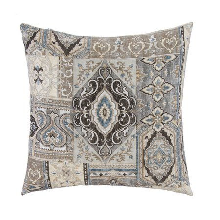 Decorative Pillows To The Trade : Grouchy Goose Spice Trade with Bone Velvet Back Throw Pillow - Walmart.com