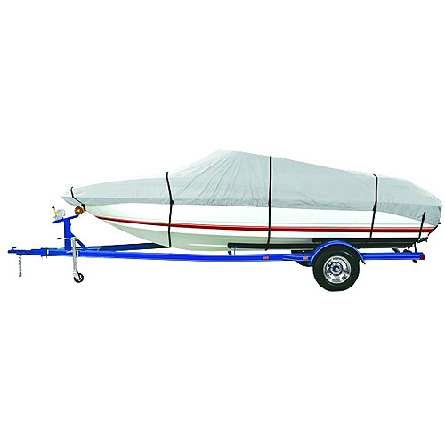 Harbor Master 300-Denier Polyester Boat Cover, Gray