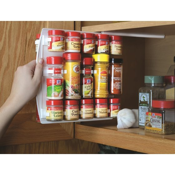 Spicestor 40 clip spice organizer set for Spong kitchen set 702