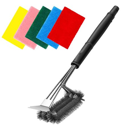 Grill Brush and Scraper - Safe 18
