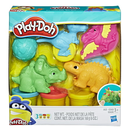 Play-Doh Dino Tools Dinosaur Toys with 3 Cans of Play-Doh Colors