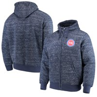 Detroit Pistons G-III Sports by Carl Banks Discovery Transitional Full-Zip Jacket - Navy