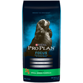 aa49ef91789 Purina Pro Plan FOCUS Small Breed Formula Adult Dry Dog Food - 18 lb. Bag