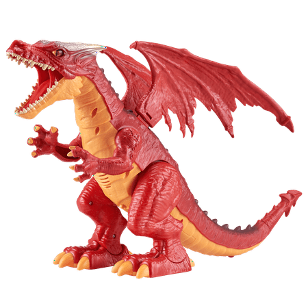 Robo Alive Ferocious Fire Dragon Battery-Powered Robotic Toy by Zuru