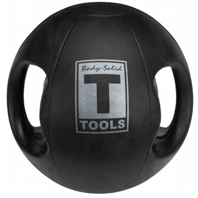 Body Solid Tools BSTDMB8 Dual Grip Medicine Ball 8 lbs.