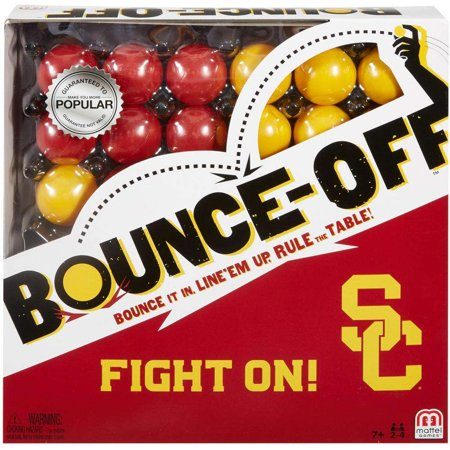 Bounce-Off USC Edition Party Fun Game for 2-4 Players Ages 7Y+ - Halloween Party Games For All Ages