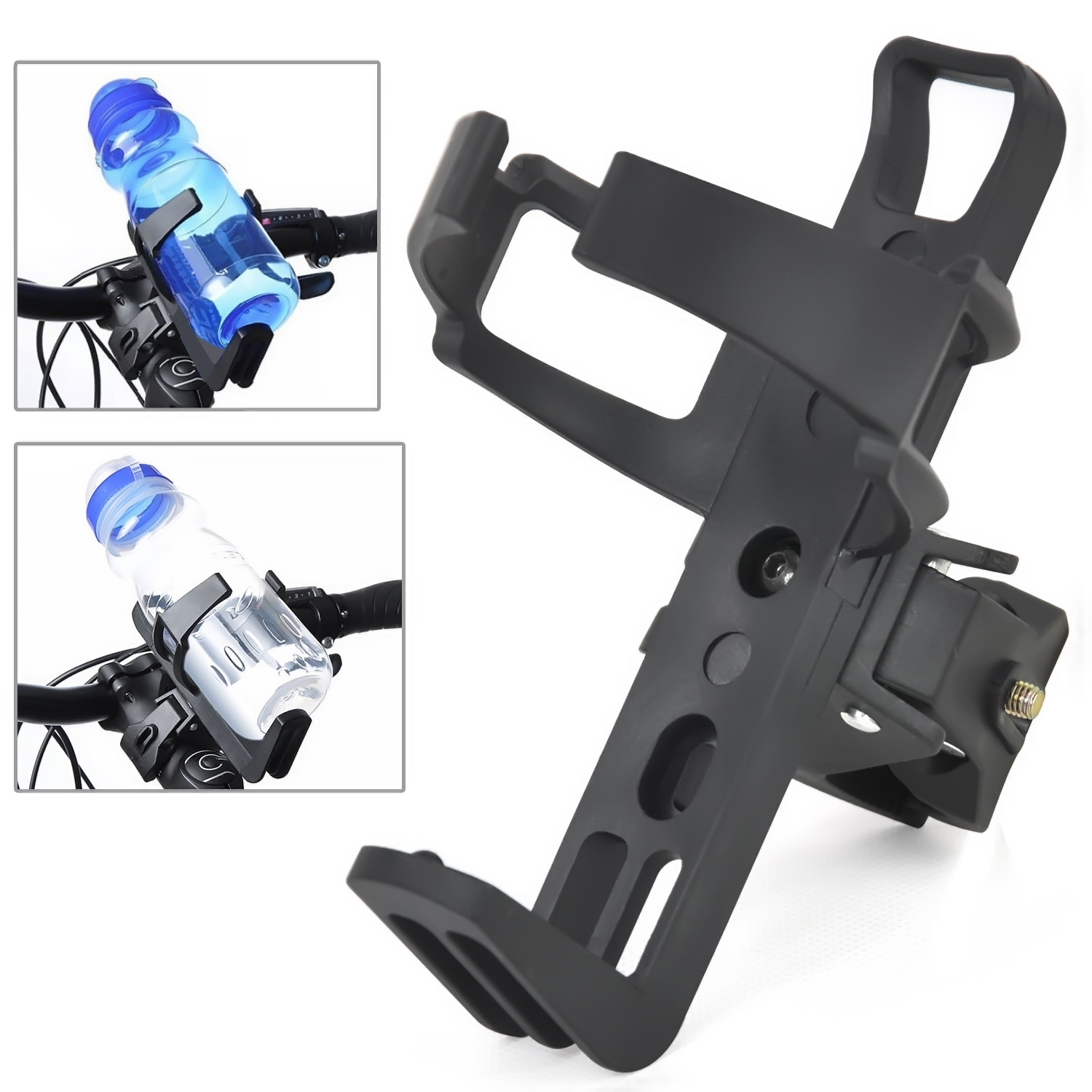 Water Bottle Drinks Holder Carrier Cage for Bike Bicycle Cycle Rack Sports MZ