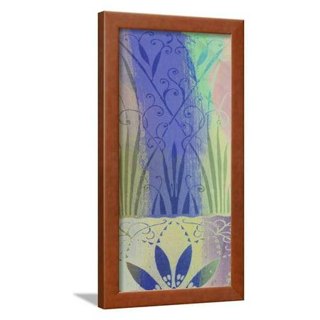 Pastel Filigree II Framed Print Wall Art By Ricki -