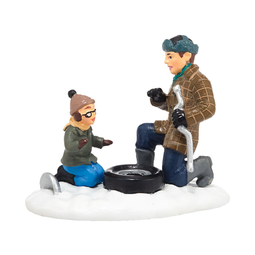 Dept 56 A Christmas Story Ralphie & The Old Man Oh Fudge 4038245