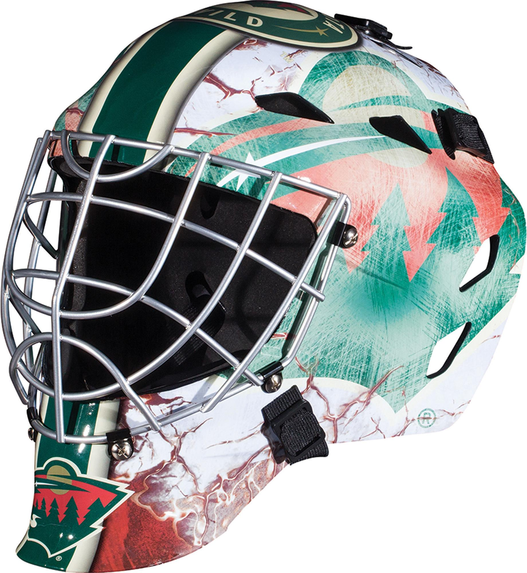 Minnesota Wild Unsigned Franklin Sports Replica Full-Size Goalie Mask