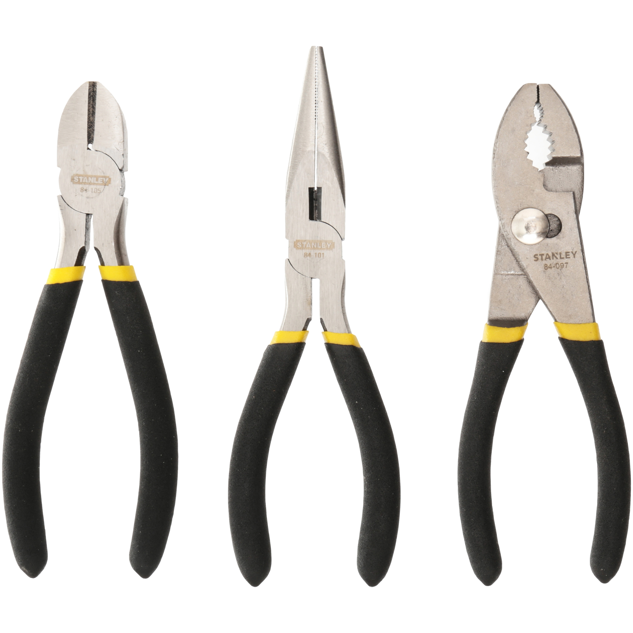 Stanley Pliers Set 3 pc Carded Pack by Stanley Tools