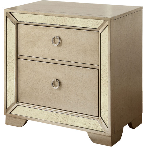 Hokku Designs Olivia 2 Drawer Nightstand