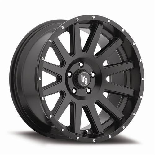 "LRG Rims LRG107 Gamer Wheel with Satin Black Finish (20x9""/8x170mm)"