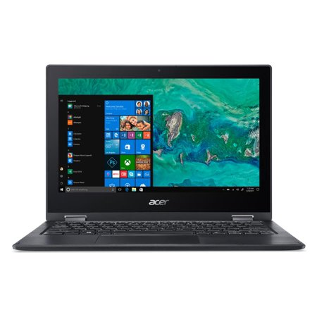 Acer Spin 1, 11.6u0022 HD Touch, Intel Pentium Silver N5000, 4GB LPDDR4, 64GB eMMC, Office 365 Personal, Windows 10 in S mode, SP111-33-P1XD