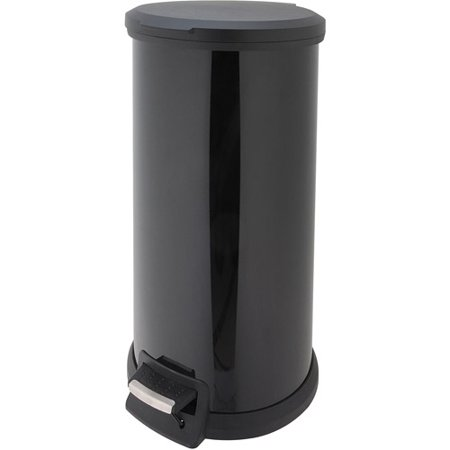 This button opens a dialog that displays additional images for this product  with the option to zoom in or out. Better Homes and Gardens 40 Liter Round Step Trash Can   Walmart com