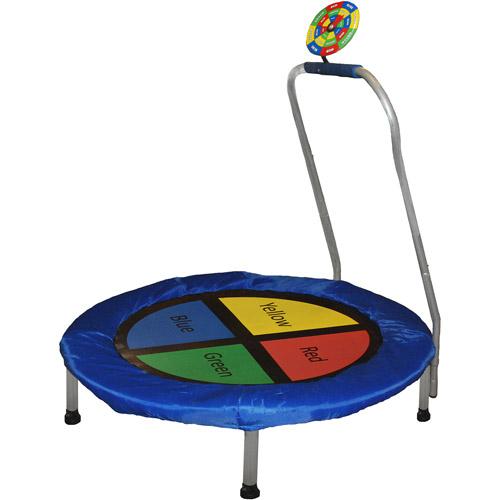 "Bounce-n-Learn 38"" Interactive Game Mini Trampoline"