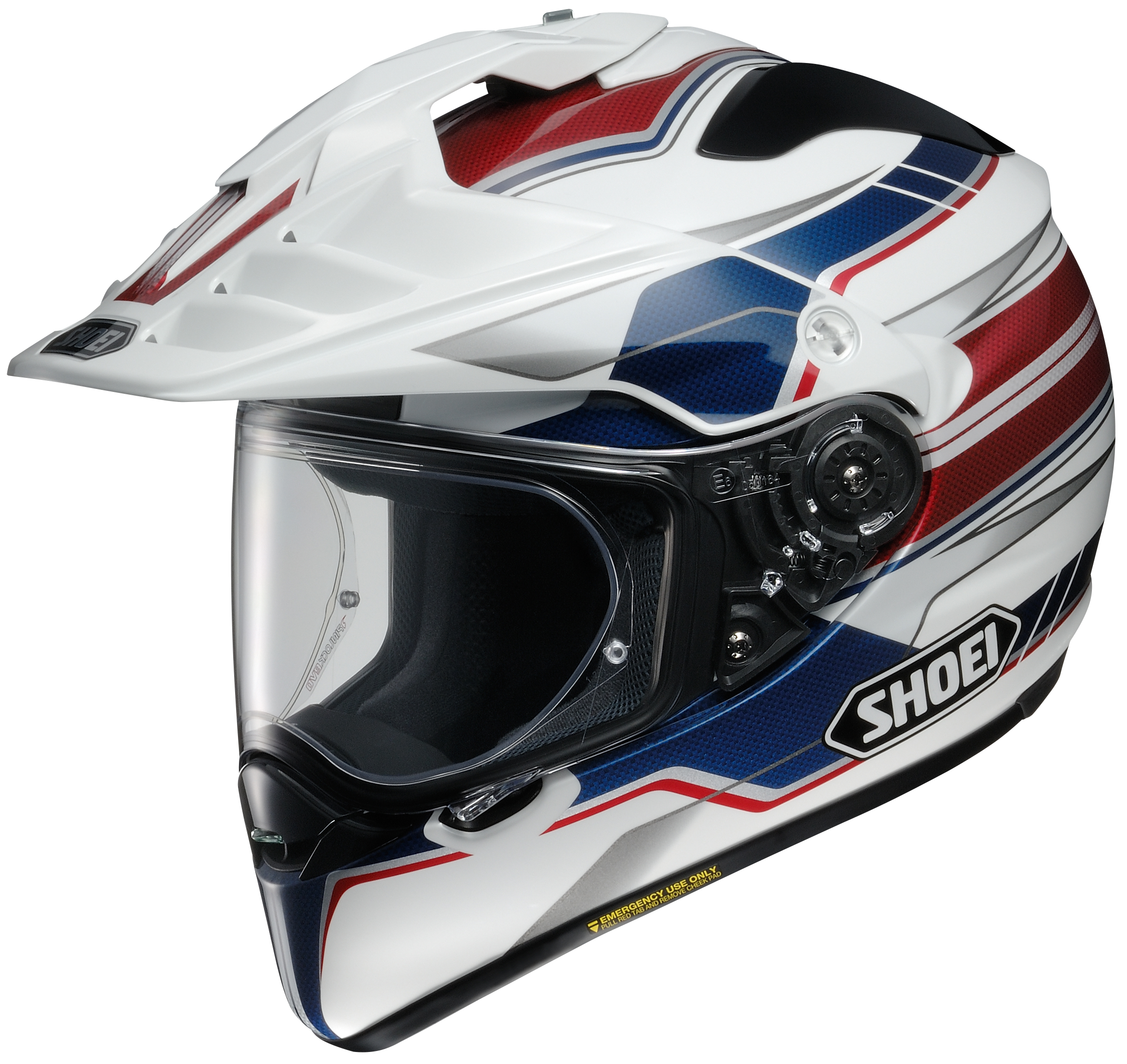 Shoei Hornet X2 Navigate Dual Sport Helmet Hi Viz XSM  0124-1203-03