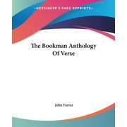 The Bookman Anthology of Verse
