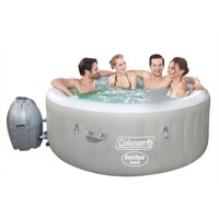 Deals on Coleman Saluspa 71-in x 26-in Tahiti Airjet Hot Tub Spa