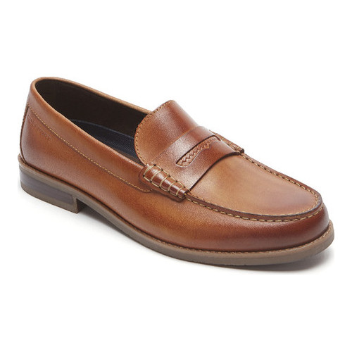 Men's Rockport Cayleb Woven Penny Loafer by
