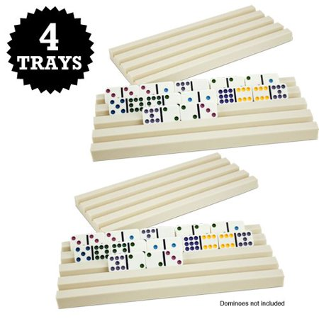 Domino Masquerade (Brybelly Plastic Domino Trays,)