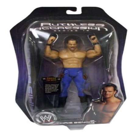 Wwe Jakks Pacific Wrestling Action Figure Ruthless Aggression Series 19 Gold Belts Giveaway Chris Benoit