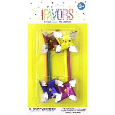 Pinwheel Party Favors, 4ct](Party Pinwheels)