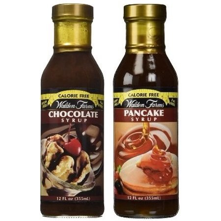 Walden Farms Calorie Free Bundle: Chocolate Syrup and Pancake Syrup