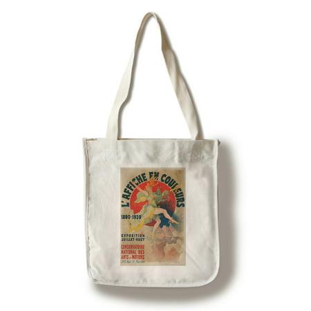 L'Affiche en Couleurs Vintage Poster (artist: Cheret) France c. 1939 (100% Cotton Tote Bag - Reusable)