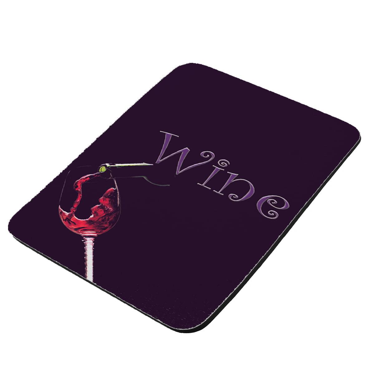 Wine - KuzmarK Mousepad / Hot Pad / Trivet
