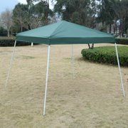 Apontus Easy Pop Up Tent Instant Canopy with Carry Bag (10' x 10', Green)
