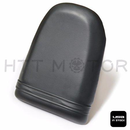 HTTMT- BLACK PASSENGER BACK REAR SEAT PILLION FOR 2001-2003 SUZUKI GSXR600 GSXR750