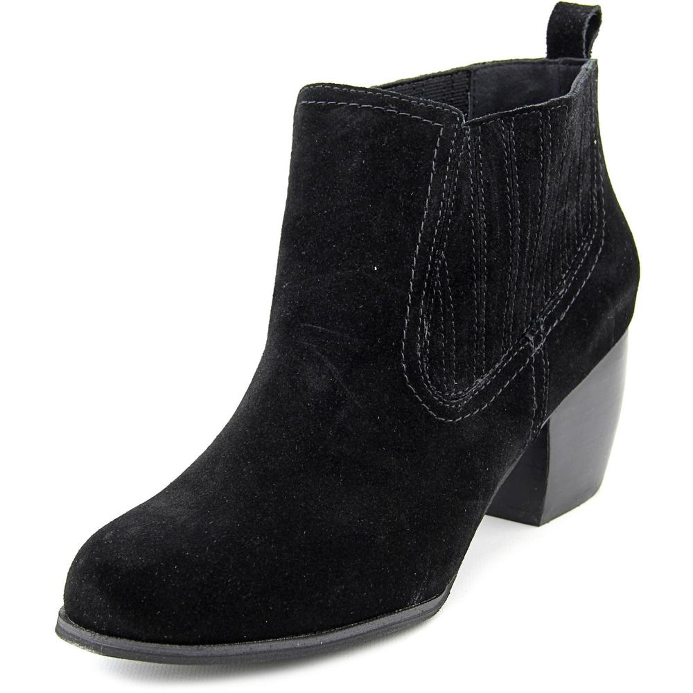 Restricted Wynter   Round Toe Suede  Ankle Boot