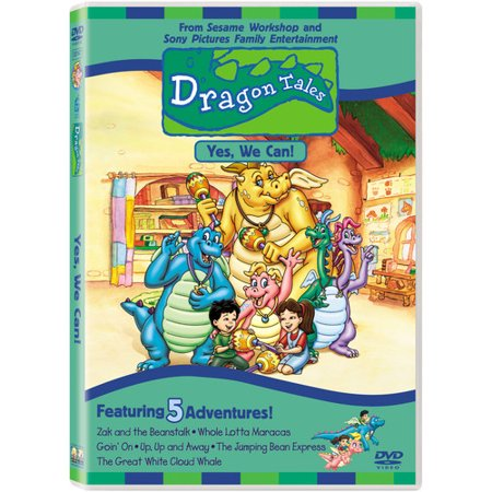 Dragon Tales: Yes We Can (DVD) (Tales From The Dragon Mountain 2 The Lair)