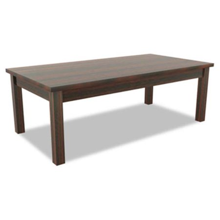 Valencia Series Occasional Table, Rectangle, 47.25 x 20 x 16 .38, Mahogany