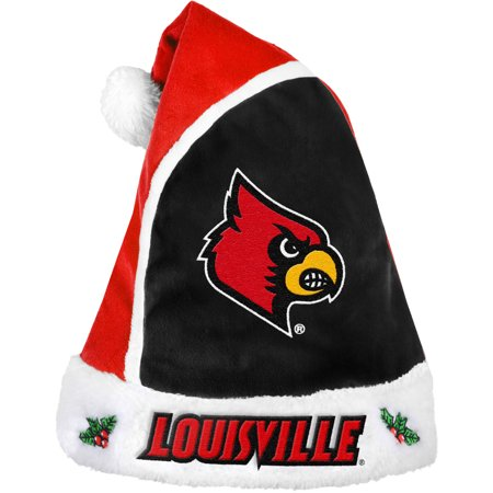 Forever Collectibles NCAA 2015 Santa Hat, University of Louisville Cardinals