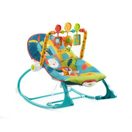 Fisher-Price Infant-to-Toddler Rocker – Circus Celebration Only $24