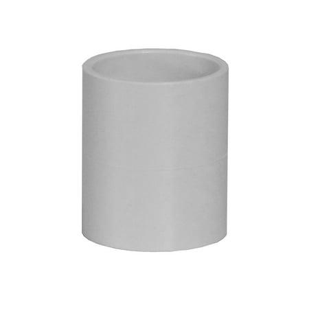 """Pipe Coupling 1.5"""" White"""