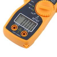 Fugacal Digital Clamp Multimeter AC DC Voltmeter Ammeter Ohmmeter Volt Tester LCD Meter, VOM Tester, Ohmmeter
