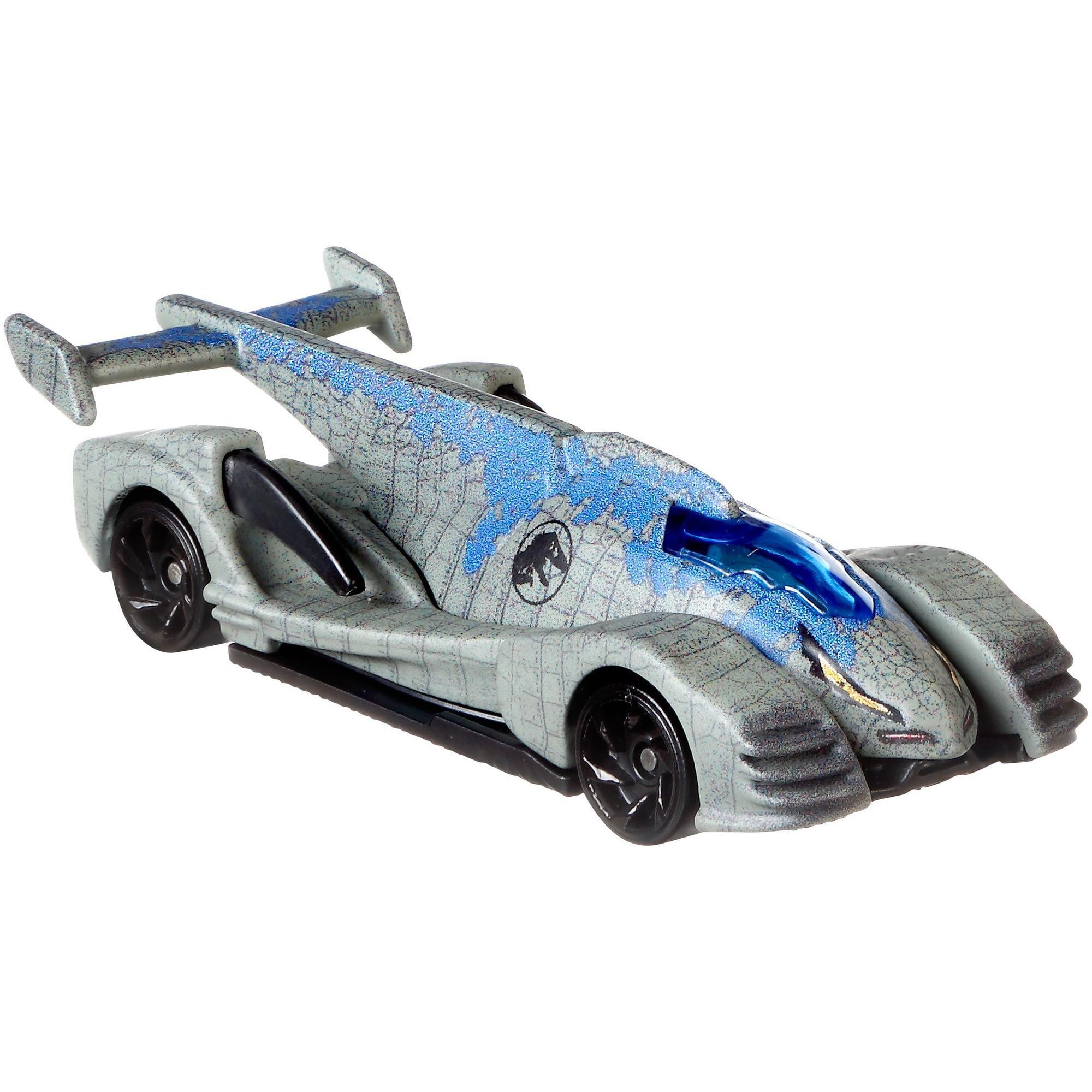 Hot Wheels Jurassic World Velociraptor Blue, Vehicle by Mattel