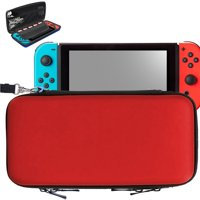 TSV Carrying Travel Hard Shell Case w/ 8 Game Cartridge Holders For Nintendo Switch Accessories Organiser