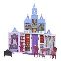 Disney Frozen 2 Fold and Go Portable Arendelle Castle Dollhouse Playset- Walmart Exclusive