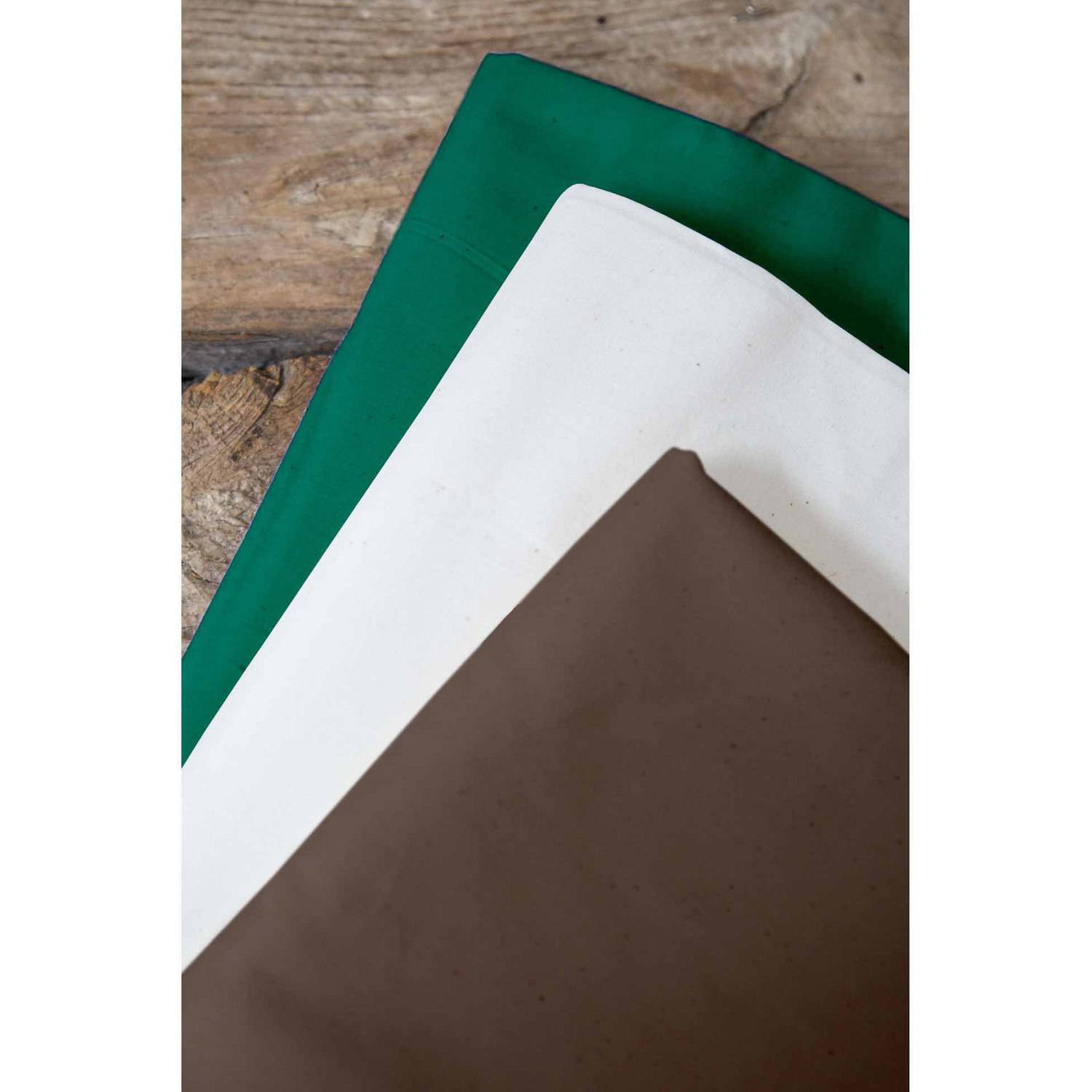 "Hunting Season Palencia Broadcloth Fabric Bundle, Forest Green-Parchment Paper-Brown, 44/45"" Width, 2-yd Cuts"