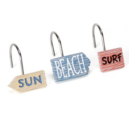 Mainstays Catching Rays Shower Curtain Hooks