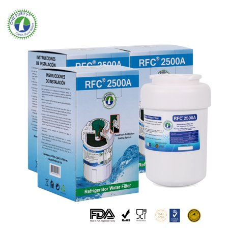 3 Pack Onepurify Rfc2500a Replacement For Mwf  Mwfa  Mwfp  Gwf  Gwfa  9991 46 9991  469991 Refrigerator Water Filter