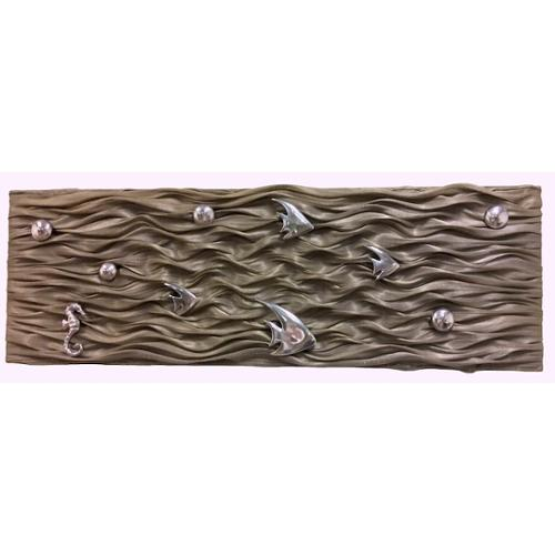 Fish Ripples Wall Panel C
